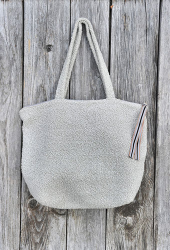 Handgefertigte Stoff-Bag - made in Bavaria - Natur Sand - Atelier No. 19